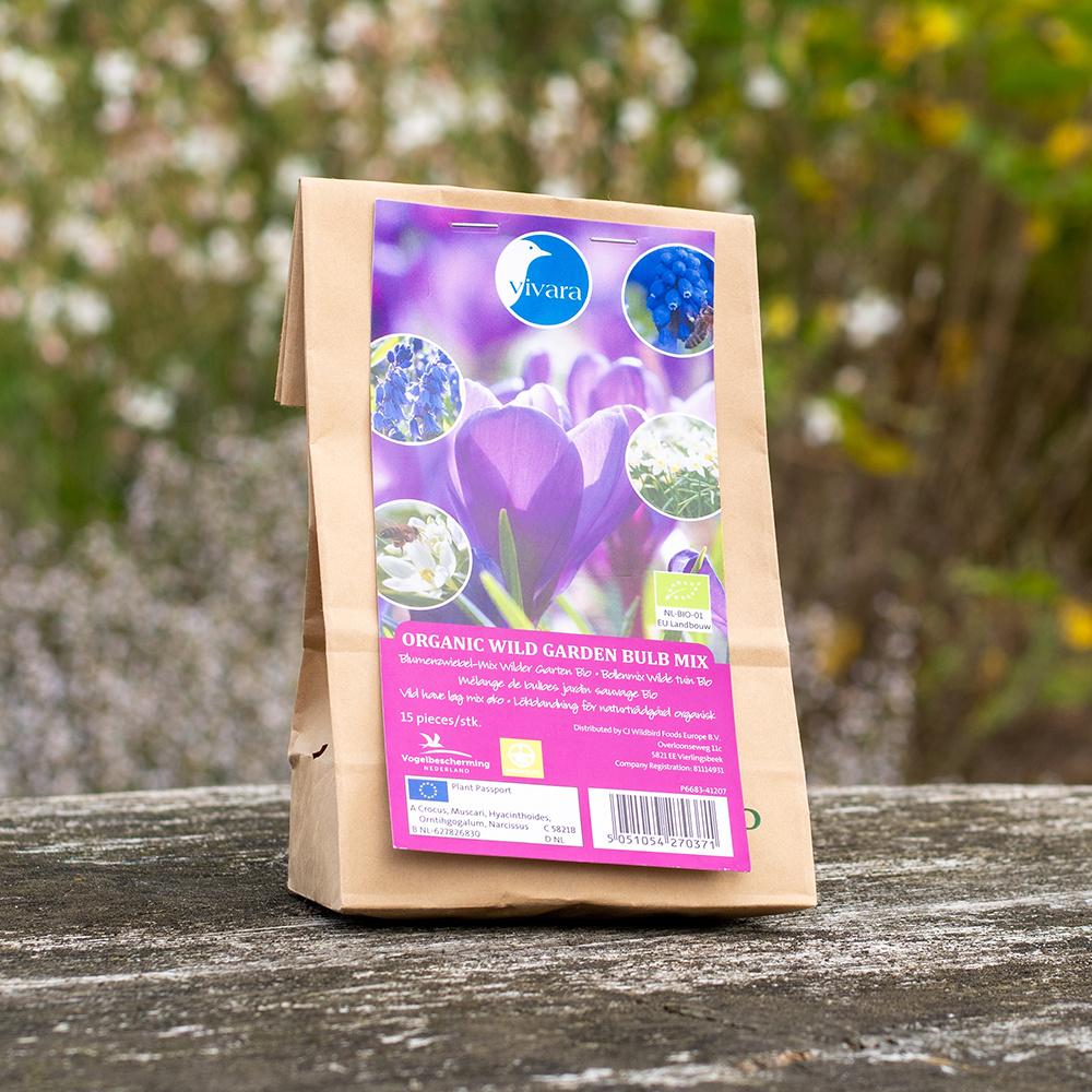 Mélange de bulbes bio jardin sauvage (100 bulbes)