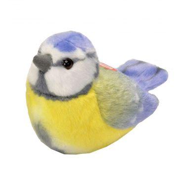 Peluches d'oiseaux avec chant – Mésange bleue