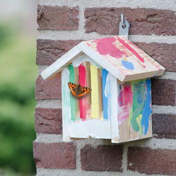 Kit de construction pour abri à papillons Dana
