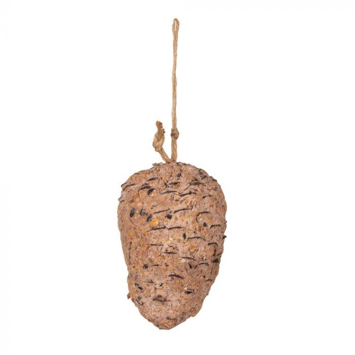 Pomme de pin au beurre de cacahuètes