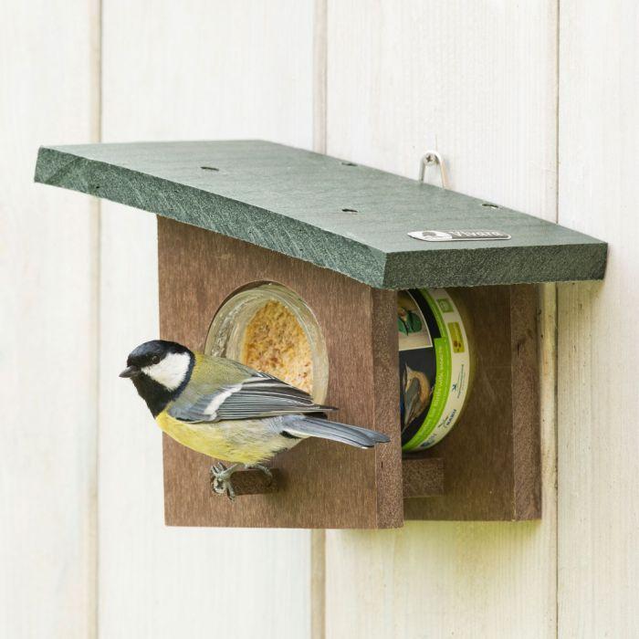 Beurre de cacahuètes pour oiseaux de jardin - avec insectes
