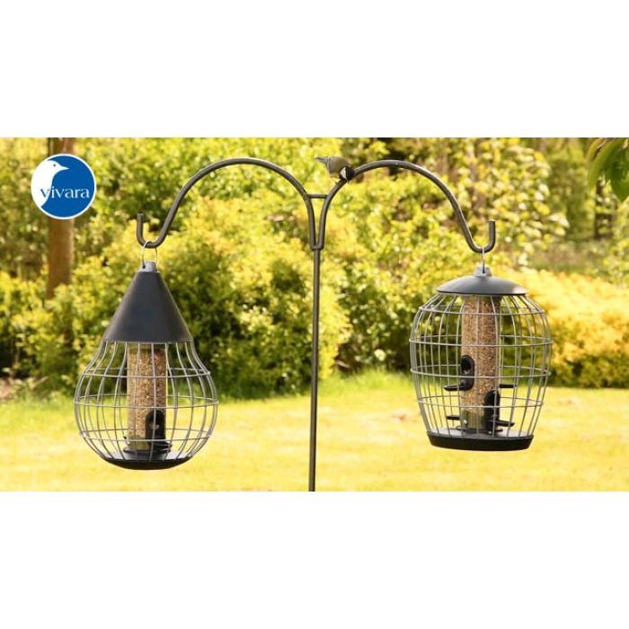 Silo et cage de protection pour petits oiseaux Aura