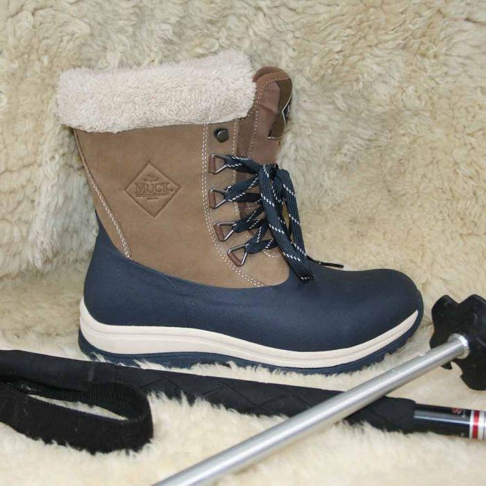 Bottes femmes Arctic Leather Mid Muckboots