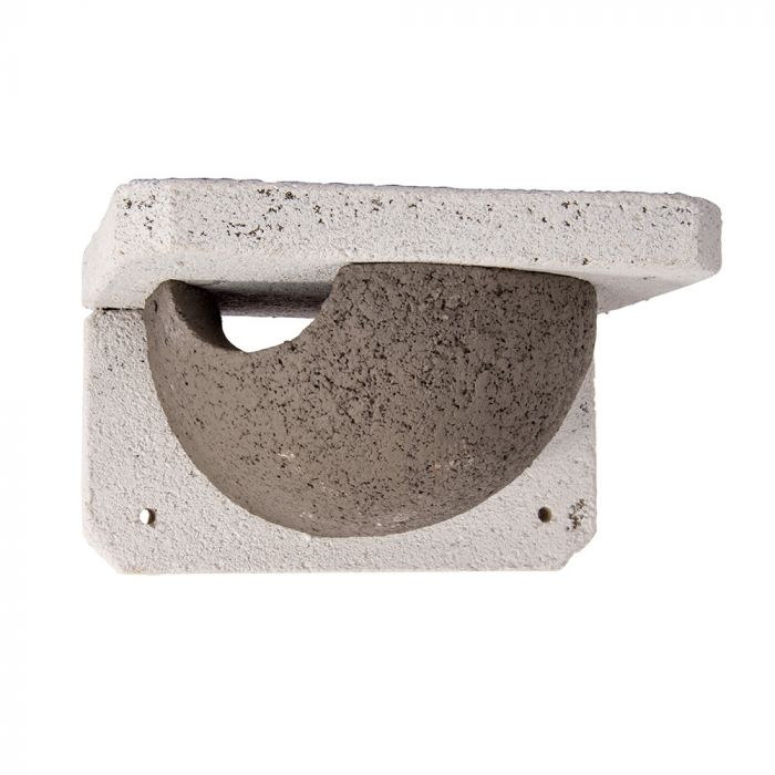 Nichoir WoodStone® pour hirondelles de fenêtre simple - entrée gauche