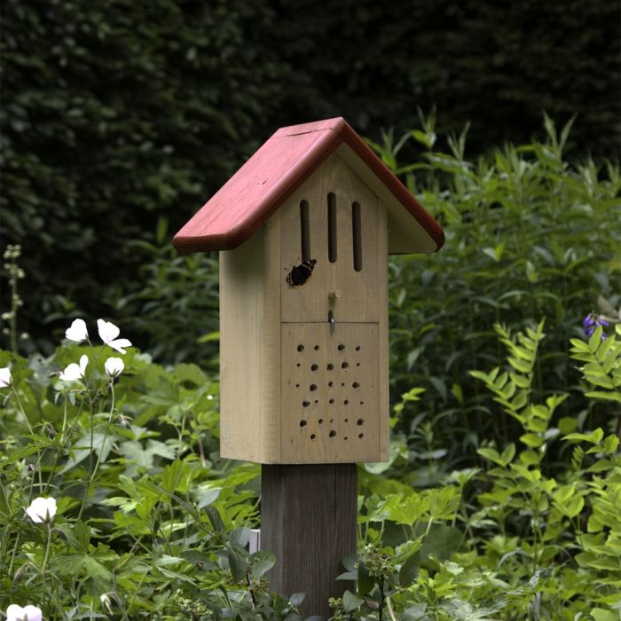 Butterfly & Bee Box - Red
