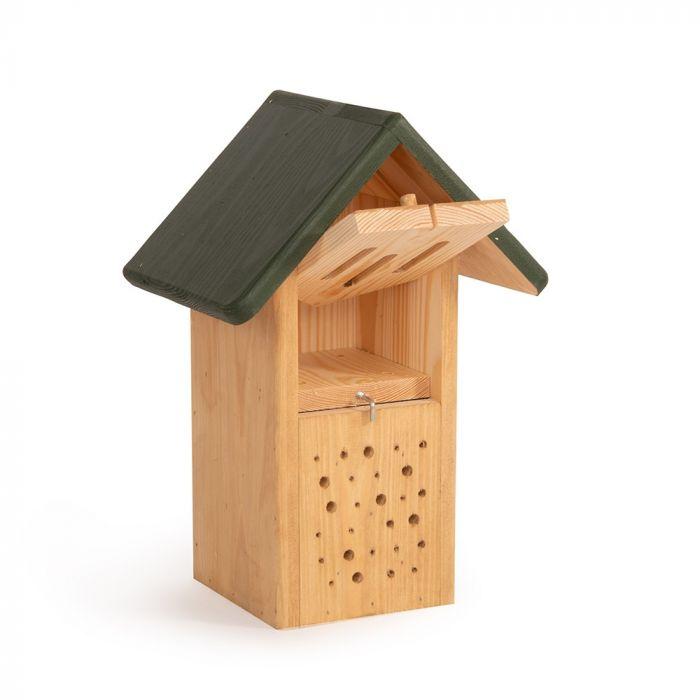 Armoire bifonctionnelle pour abeilles et papillons - verte