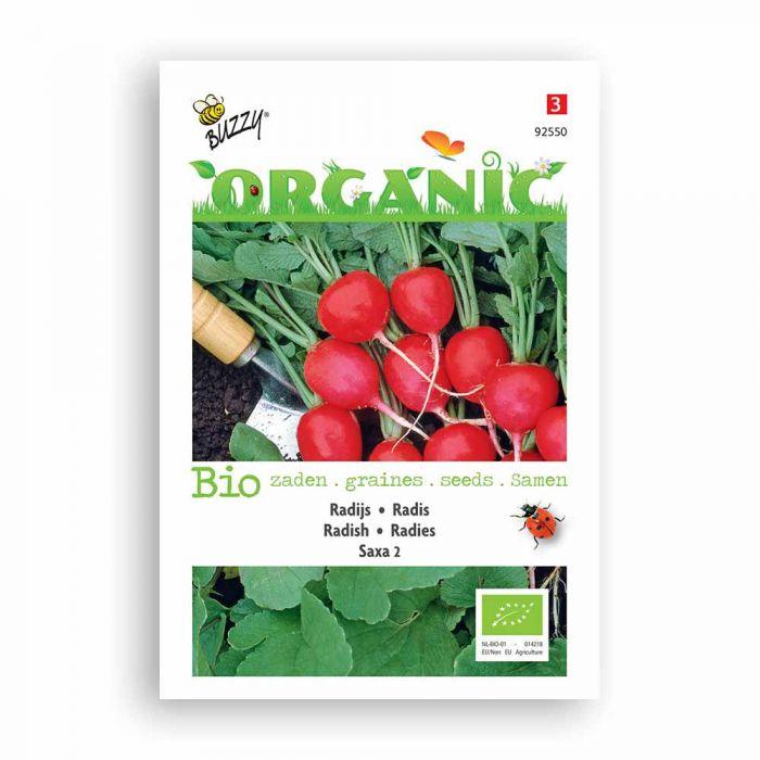 Buzzy® Organic Radis Saxa 2 BIO