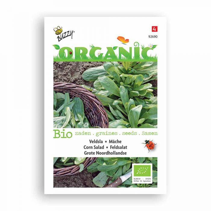 Buzzy® Organic Mâche à grosse graine BIO