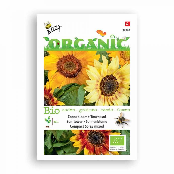 Buzzy® Organic Tournesol - Compact Spray, variée BIO