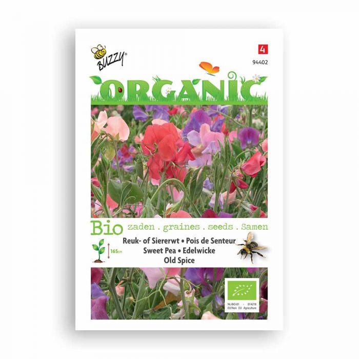 Buzzy® Organic Pois de Senteur - Old Spice BIO
