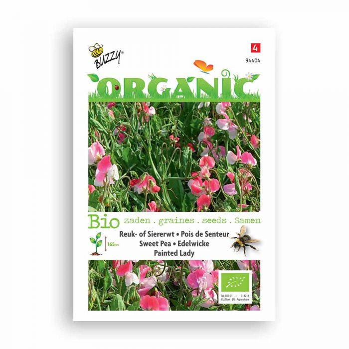 Buzzy® Organic Pois de Senteur - Painted Lady BIO