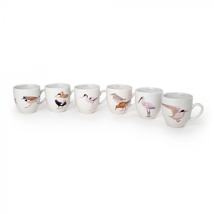 Tassen-Set-Wattvögel