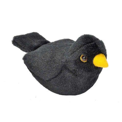 Peluches d'oiseaux avec chant – Merle