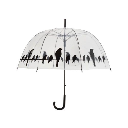 Parapluie avec silhouettes d'oiseaux