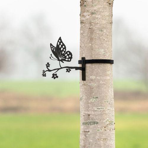 Silhouette en métal – Papillon