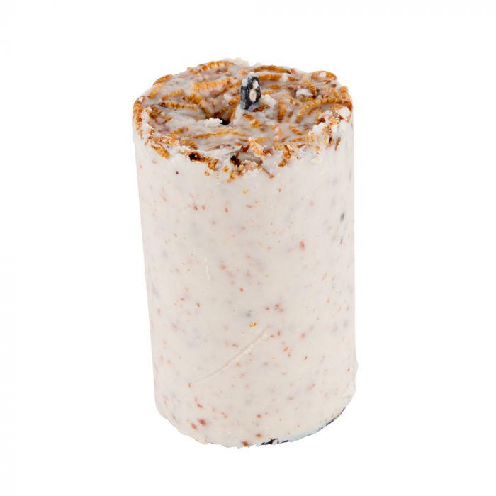 Cake aux cacahuètes avec vers de farine 500 ml