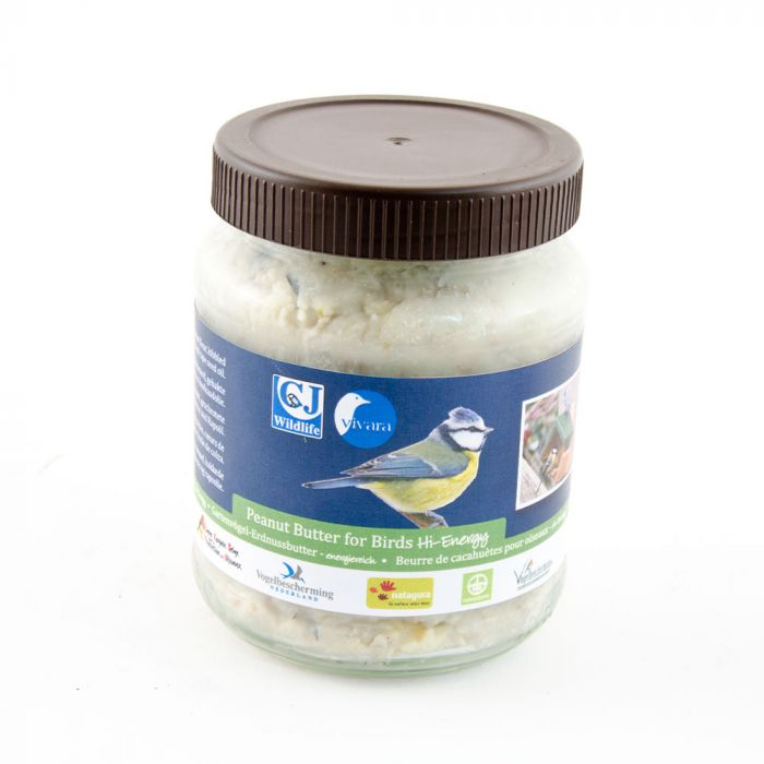 PBeurre de cacahuètes pour oiseaux de jardin - Hi-Energy