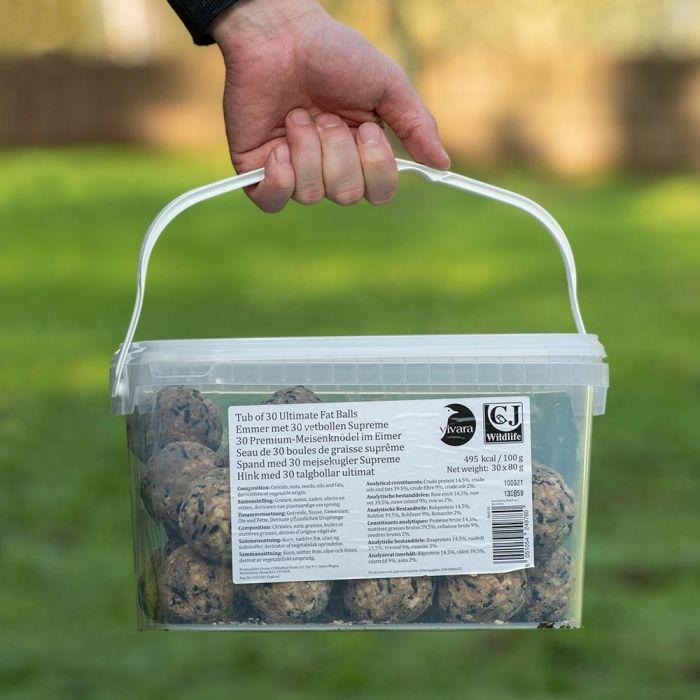 Boîte de 30 boules de graisse suprême