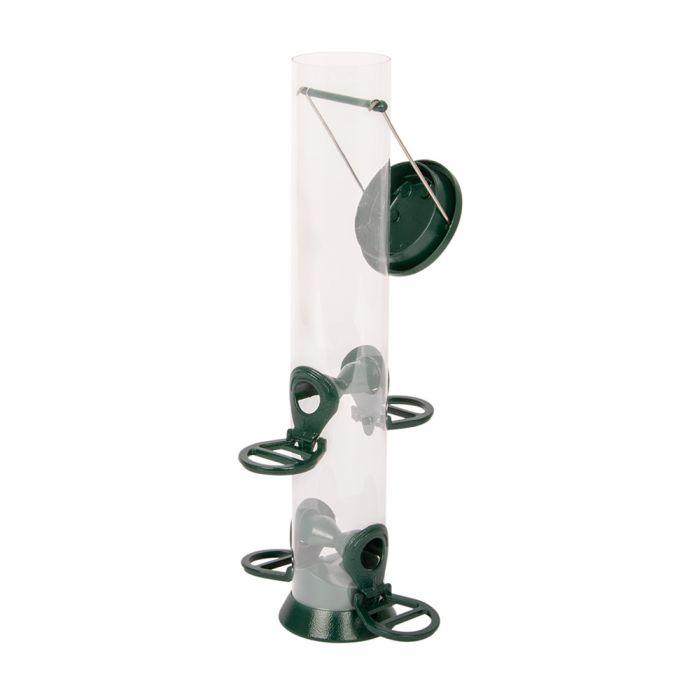 Silos en métal 4 ouvertures - vert