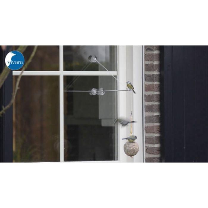 Support pour fenêtre « BirdSwing » XXL
