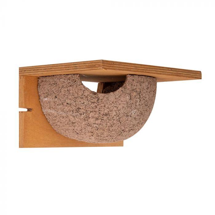 Nid artificiel Hirondelle de fenêtre simple - entrée gauche