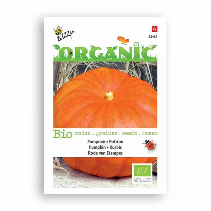 Buzzy® Organic Potiron - Rouge vif d'Etampes BIO