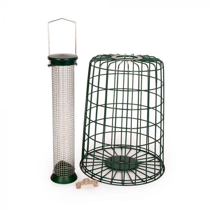 Coffret avec protection amovible pour silo maxi (cacahuetes)