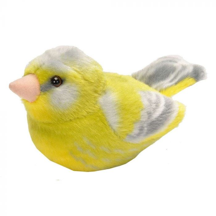 Peluches d'oiseaux avec chant – Verdier